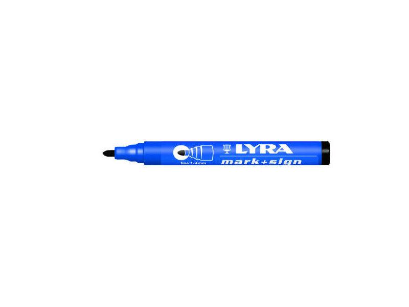 Lyra Mark + Sign marker 1-4 mm Schwarz