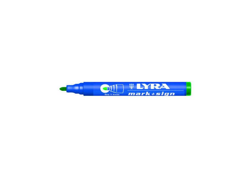 Lyra Mark + Sign marker 1-4mm Grün