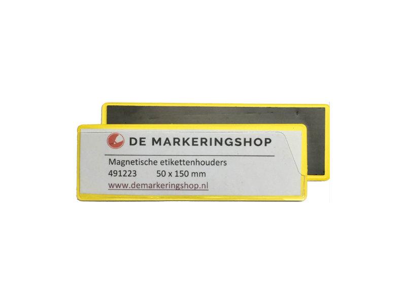 Magnetische Etikethouders 50 x 150 mm