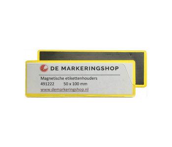 Magnetische Etikettenhalter 50 x 100 mm
