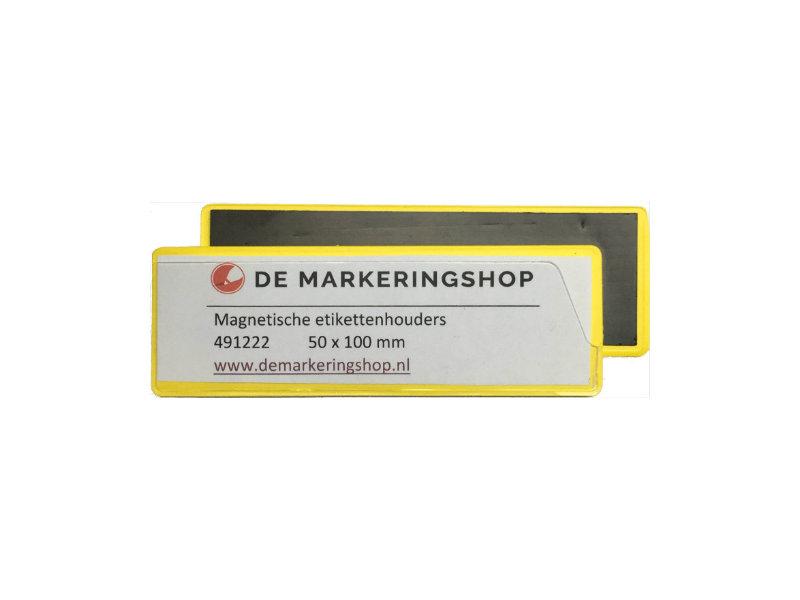 Magnetische Etikethouder 50 x 100 mm