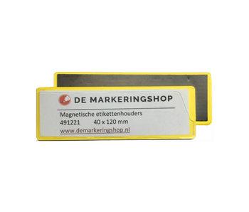 Magnetische Etikethouders 40 x 120 mm