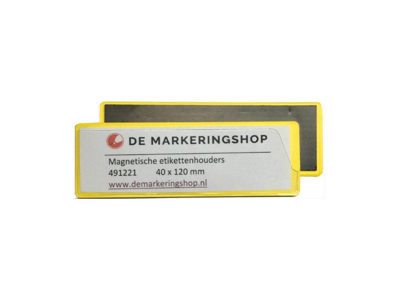Magnetische Etikettenhalter 40 x 120 mm