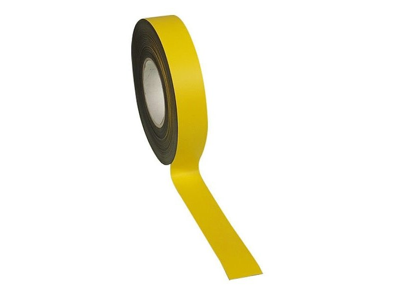 15 mm Magneetband in kleur op rol