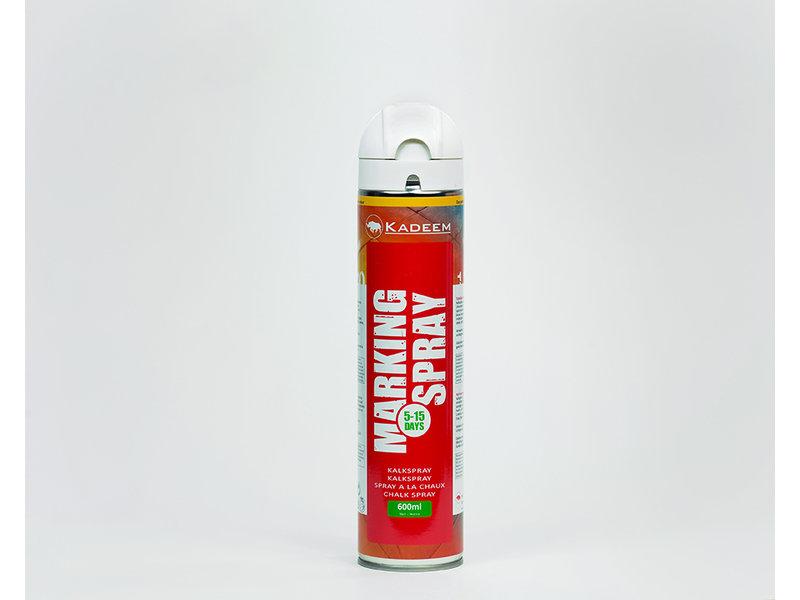 Kadeem Kadeem Marking Spray Wit (tijdelijk markering) Krijtspray 600ml 360º