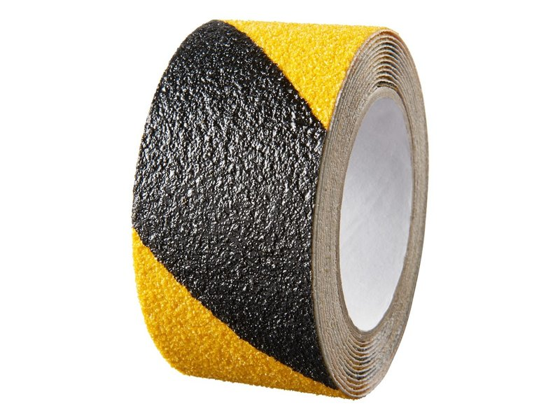 Antislip Tape Geel - Zwart 50 mm x 18 mtr