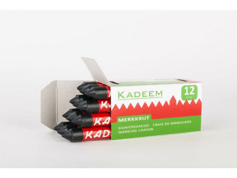 Kadeem Merkkrijt Zwart (doosje van 12 stuks)
