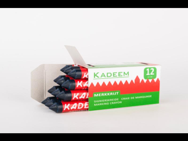 Kadeem Markierkreide Blau (Kartons zu 12 Stück)