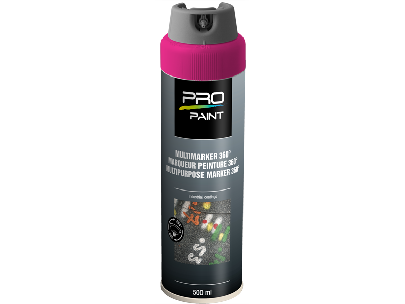 Pro-Paint Ideal spray 360º leuchtmarkierfarbe