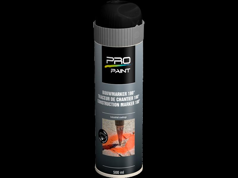 Pro-Paint Baustellenmarkierung spray 180º
