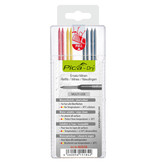 Pica 4020 Dry Basic navulling rood, geel, grafiet