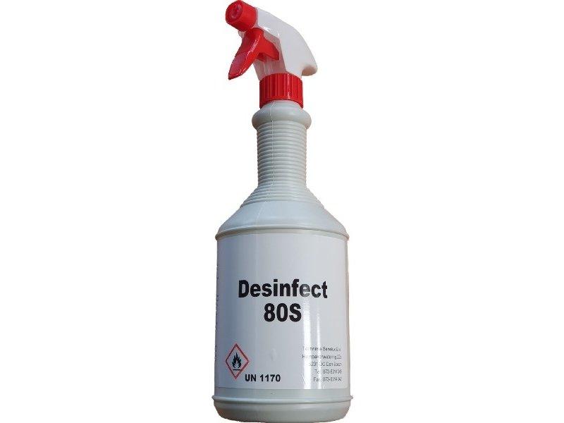 Pro-Tech Desinfecteren de Spray 80S 1 Liter