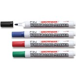 Snowman Whitebord Markers BG-4 assorti