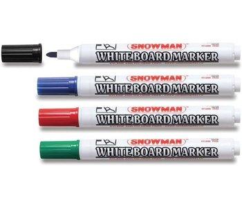 Snowman Whiteboard-Marker BG-4 sortiert
