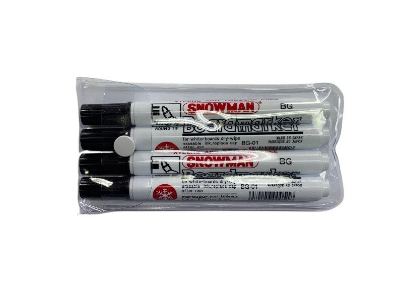 Snowman Snowman Whiteboard-Marker BG-4 schwarz