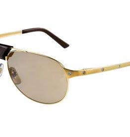 Cartier Sonnenbrille Cartier T8200888 Santos Dumont de Cartier Gold