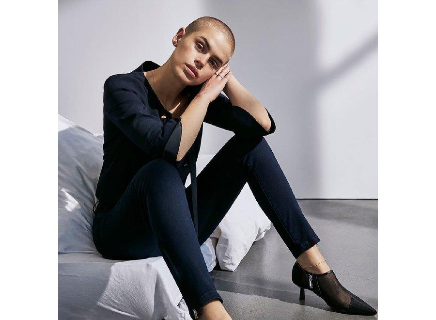 Pieszak 295 Jeans Paulina SWAN ankle Navy Blue