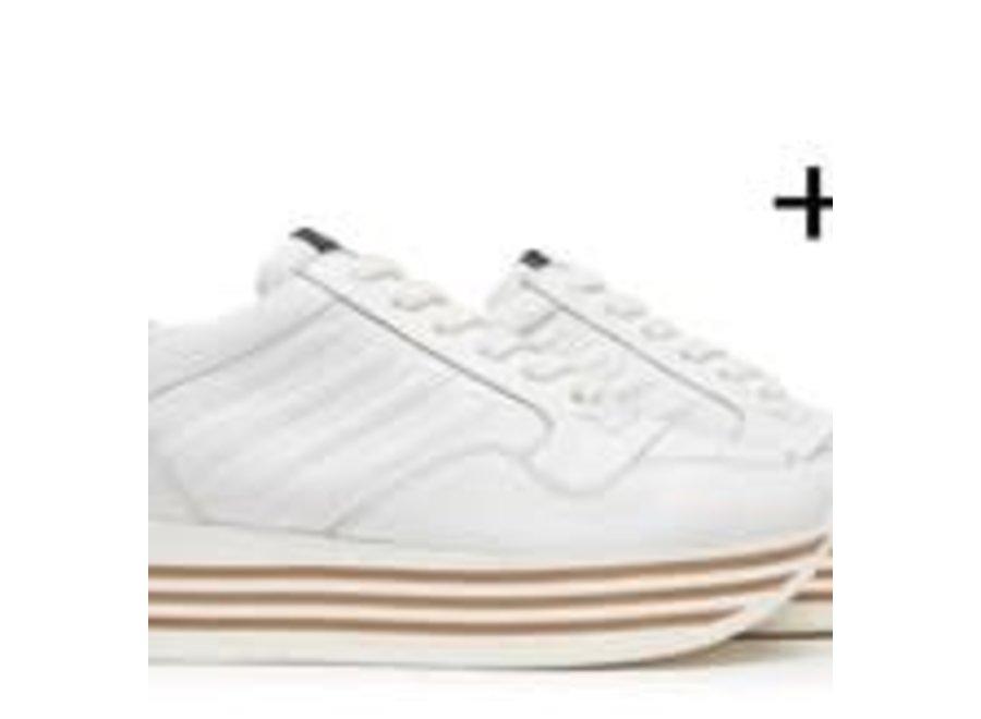 ViaVai 74 Sneaker Mila Bianco Cuoio