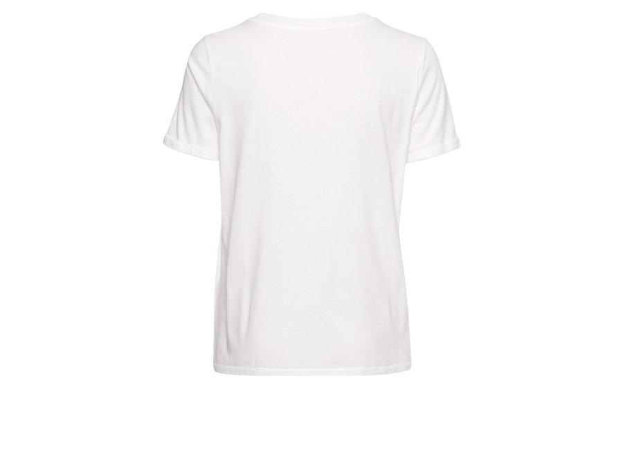 Marc Aurel 450 T-shirt 7976 7000 073158 off white varied