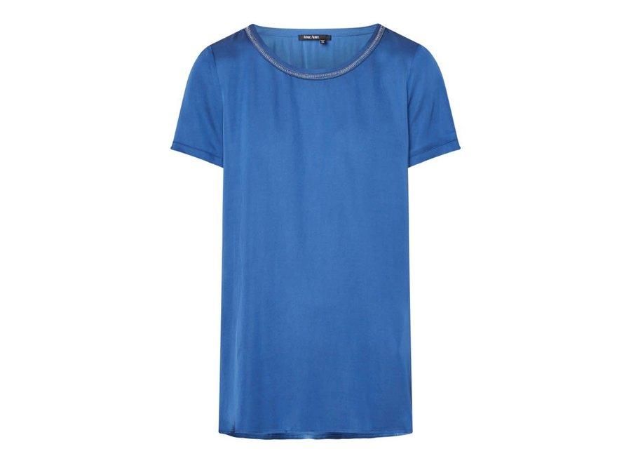 Marc Aurel 57 Top Satijn Look Blue (6221)