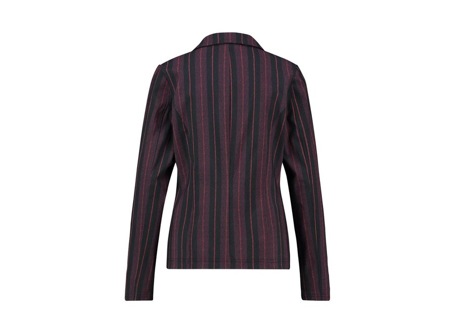 Studio Anneloes 195 Blazer Clear stripe black/burgundy
