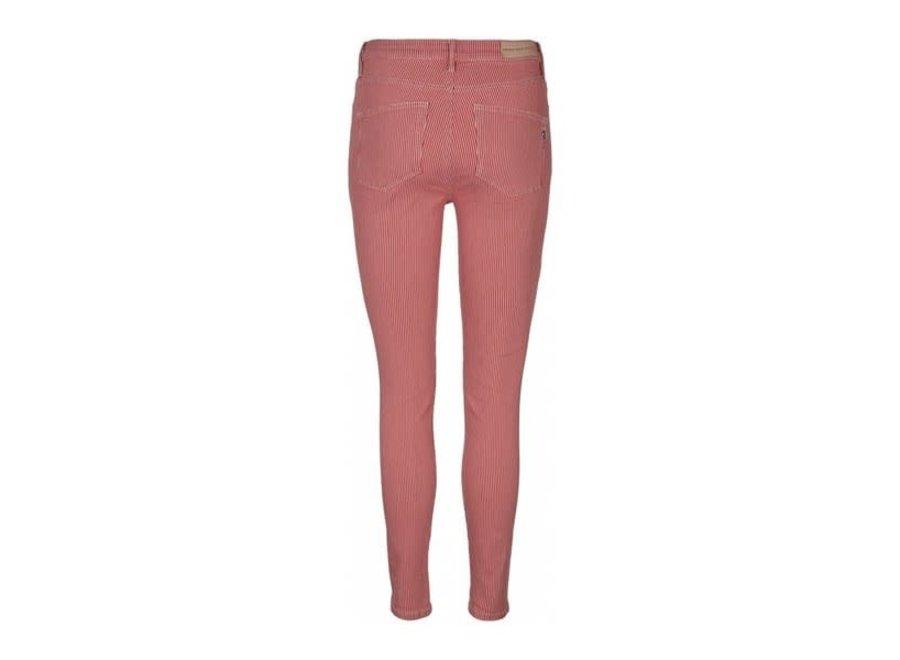 Poline Ankle Jeans in Red Stripe (582)