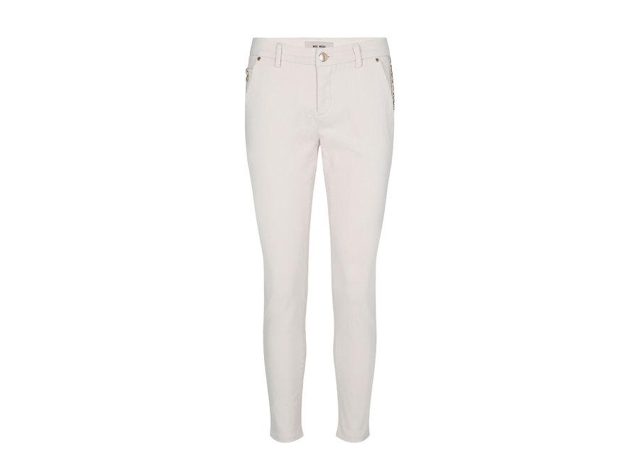 Mos Mosh 489 Broek Blake Rich Jeans Ecru