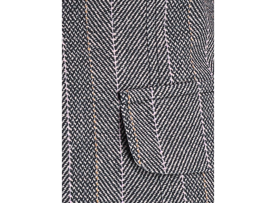 London Blazer in Herringbone (349)
