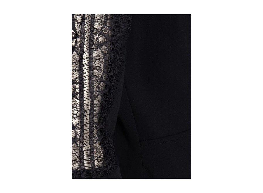 Kyra Wrap Dress in Black (231)