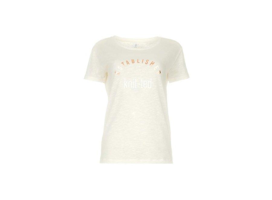 502 T-Shirt Miriam Tee Yellow Stripe