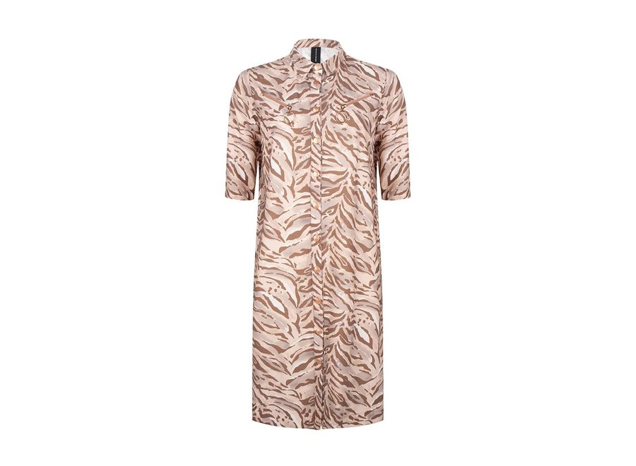 Dress in Roze Camo Print (688)