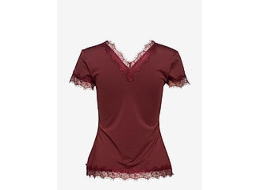 Rosemunde 542 T-shirt ss chestnut red