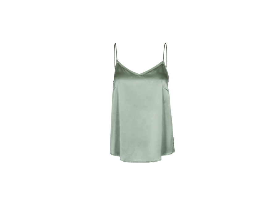 Top Ditte Silk groen  (884)