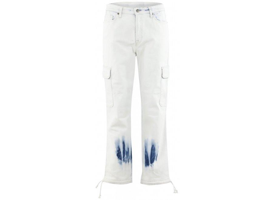 Kala Unikat Jeans in Tie Dye Print (467)