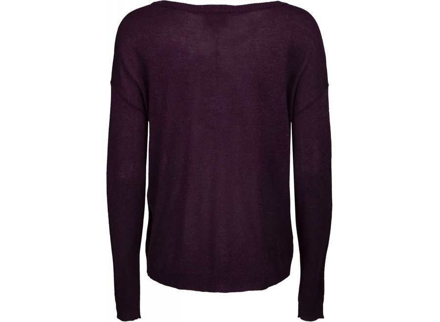 Trui Elne knit Paars (953)
