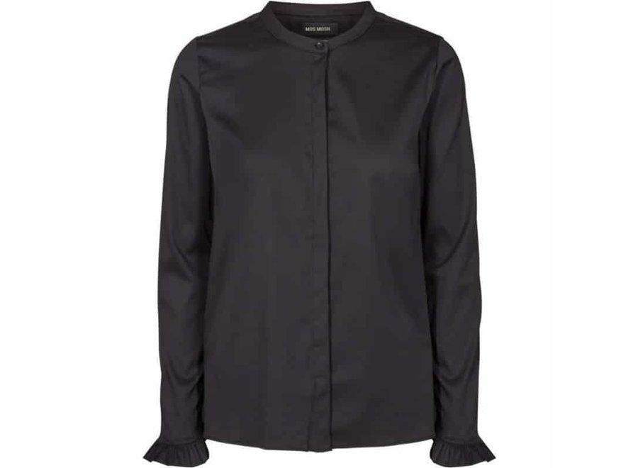 Blouse Mattie Satin Shirt Zwart (974)