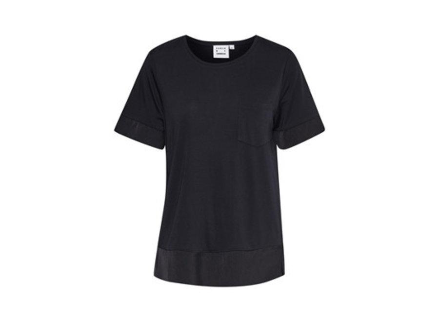 T-Shirt Eddy Tee Zwart (985)