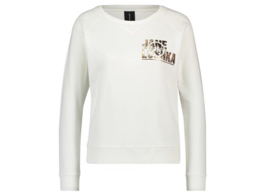 Metallic Logo Sweater (20.0851)