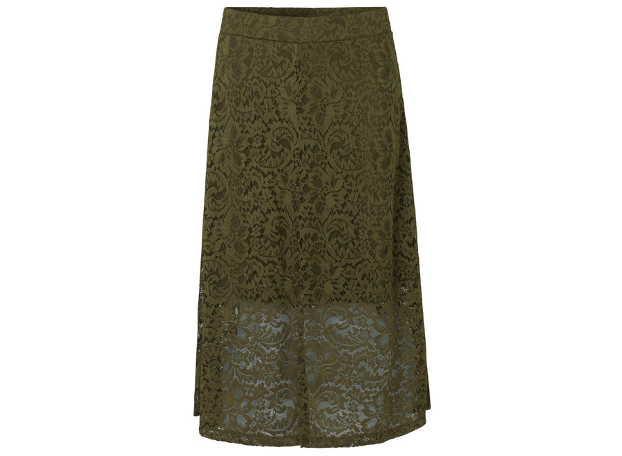 Skirt in Military Olive (20.0875)