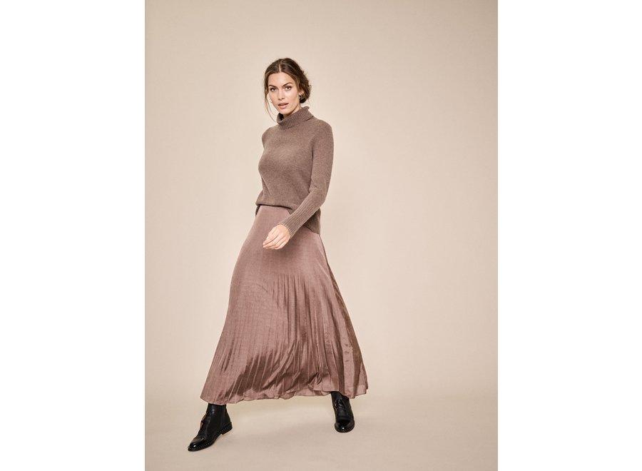 Plissee Jersey Skirt (989)