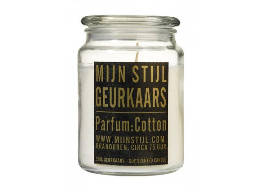 XL Geurkaars in de geur Cotton