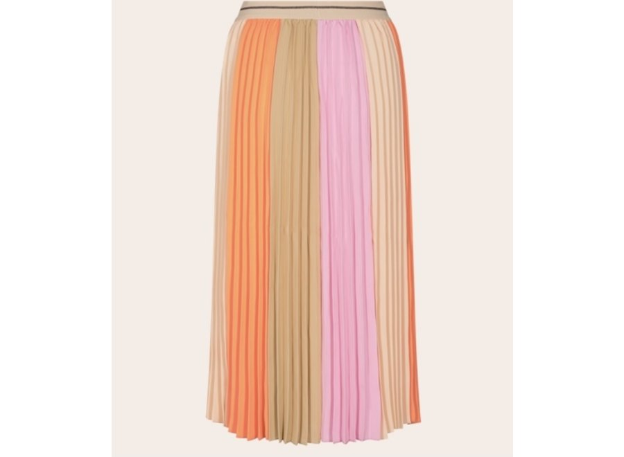 Mos Mosh Rok Plisse Block Skirt