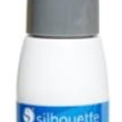 Silhouette Silhouette Mint stempel inkt blauw op=op
