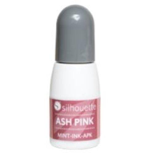 Silhouette Silhouette Mint stempel inkt roze op=op