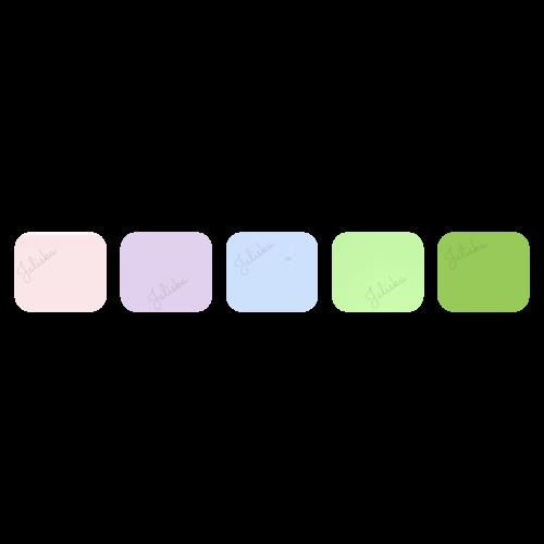 Pakket Flexfolie Pastels (5 kleuren)