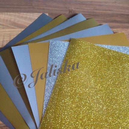 Pakket folie goud en zilver