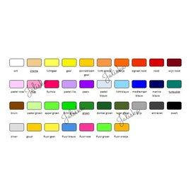 Pakket Flexfolie 37 kleuren A4 formaat