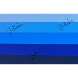 Pakket Flexfolie blauw tinten