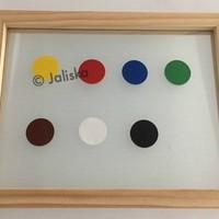 Pakket Statische raamfolie kleur A4