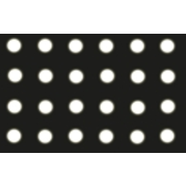Perforflexfolie zwart